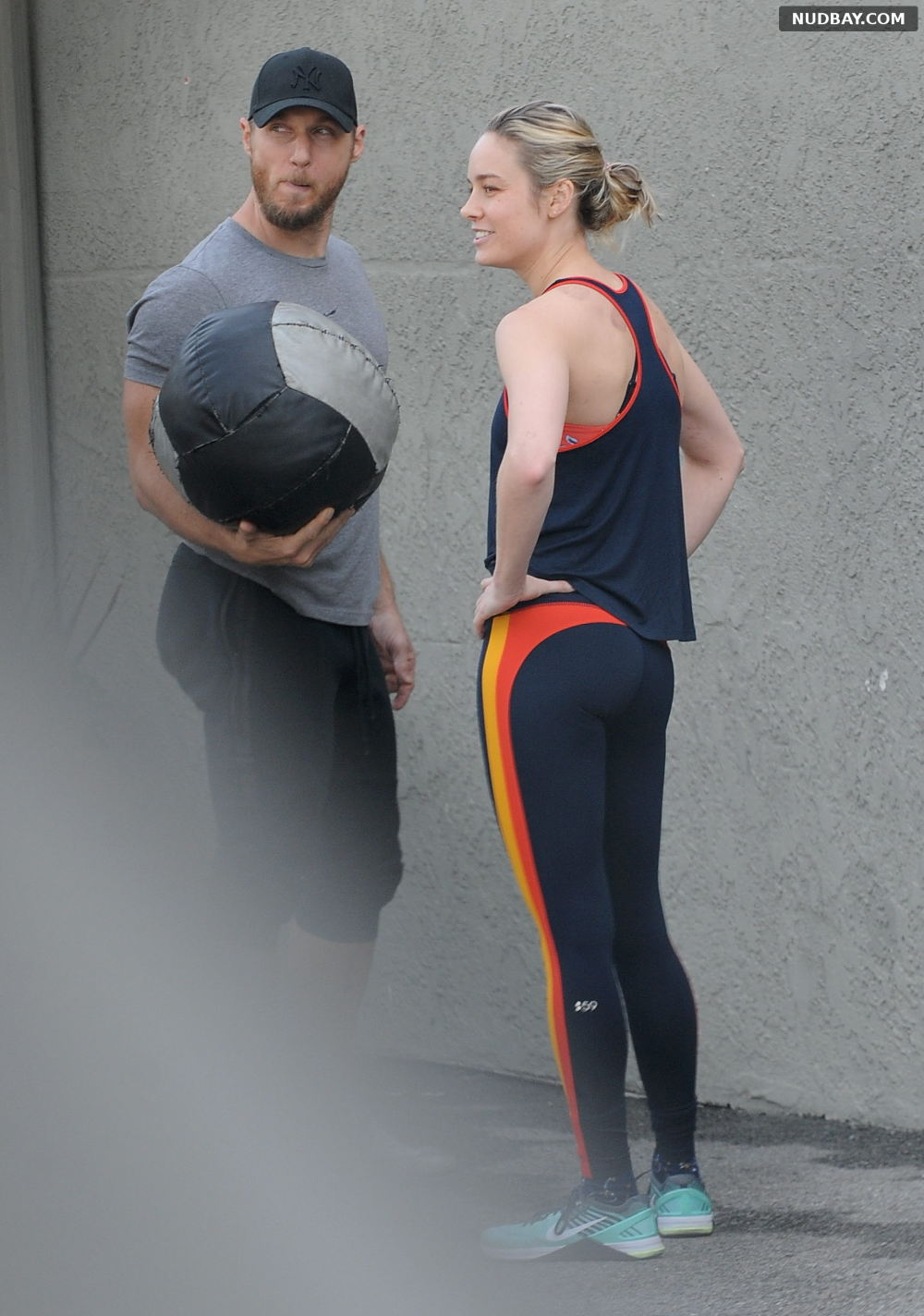 Brie Larson Booty works up a sweat at the gym in Los Angeles Jan 09 2019