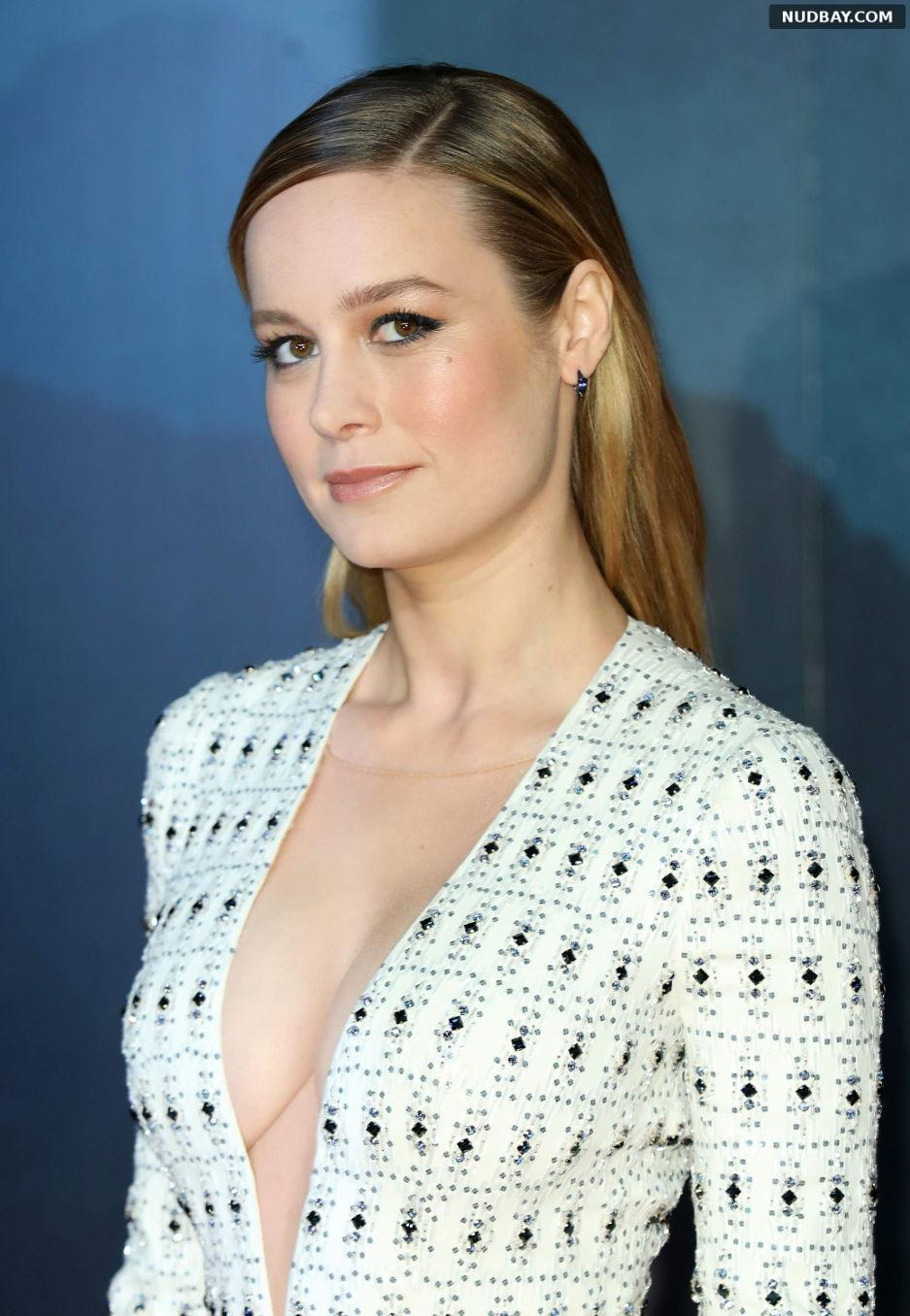 Brie Larson Nude at Kong: Skull Island premiere in London Feb 28 2017