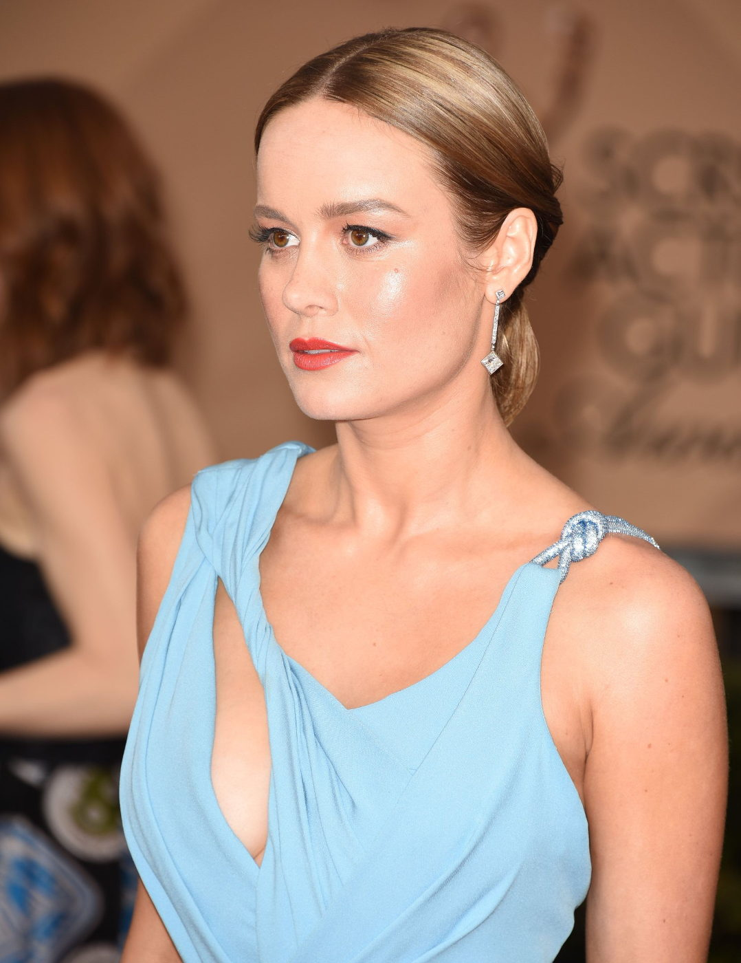 Brie Larson sexy at 22nd Annual Screen Actors Guild Awards in Los Angeles Jan 30 2016
