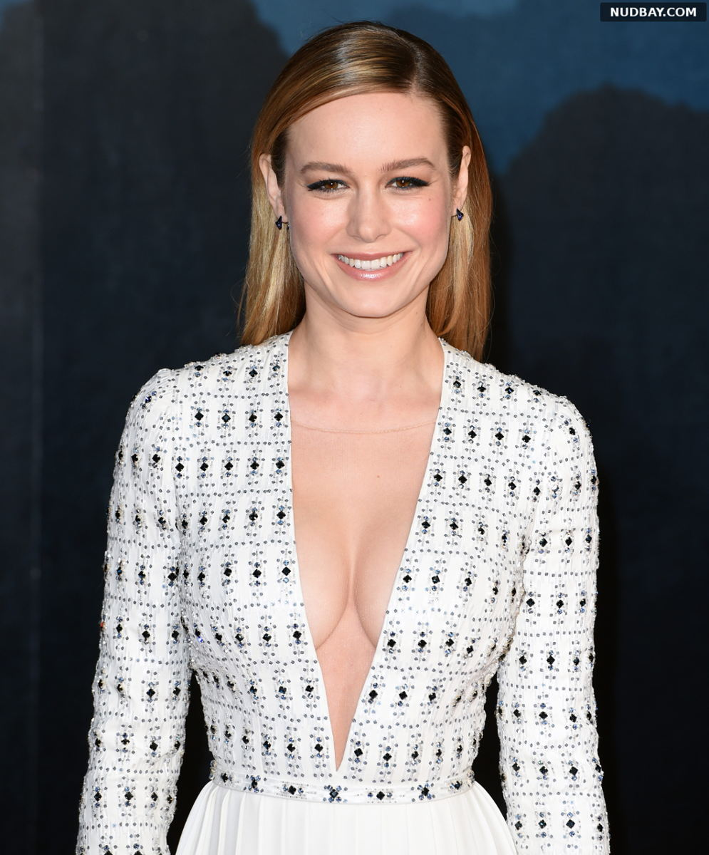 Brie Larson topless at Kong: Skull Island premiere in London Feb 28 2017