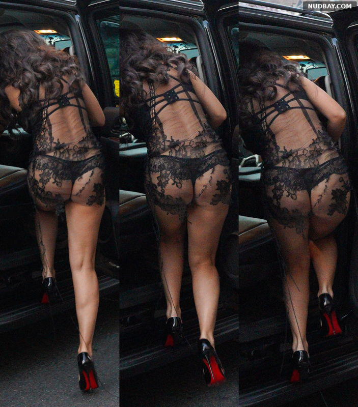 Charli XCX nude ass leaving The Hotel in New York Sep 12 2021 1