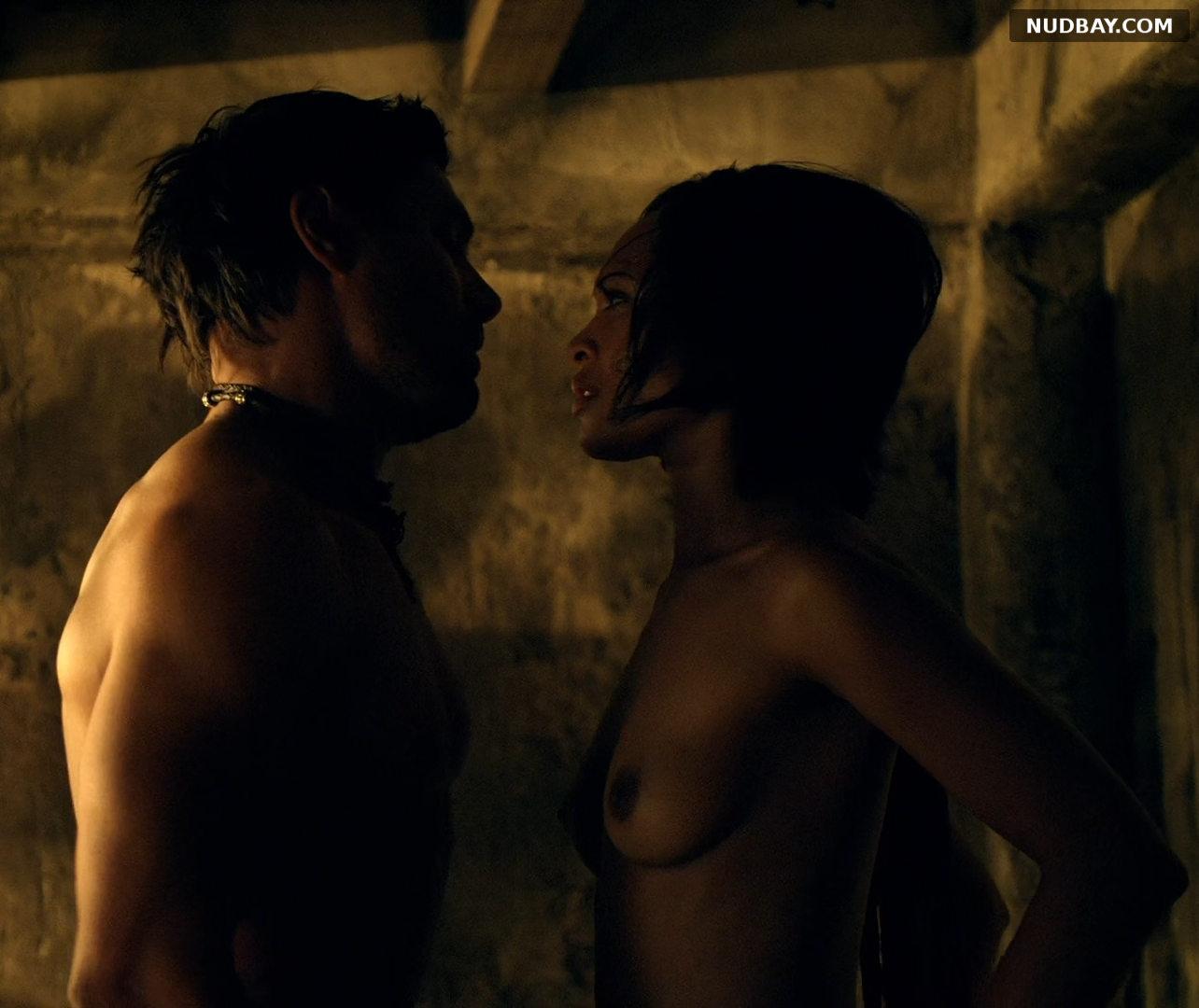 Cynthia Addai-Robinson nude in Spartacus vengeance (2012)