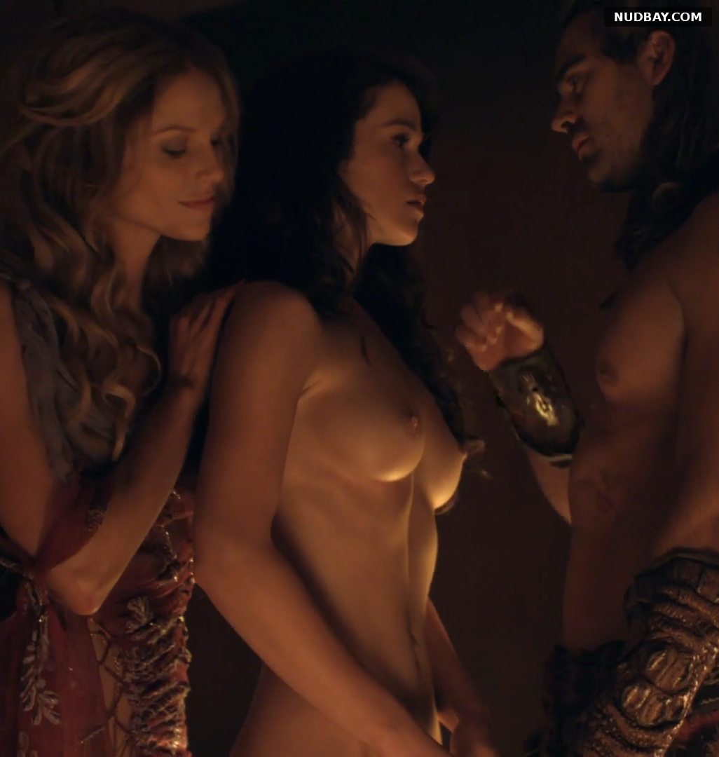 Gwendoline Taylor naked in Spartacus (2013)