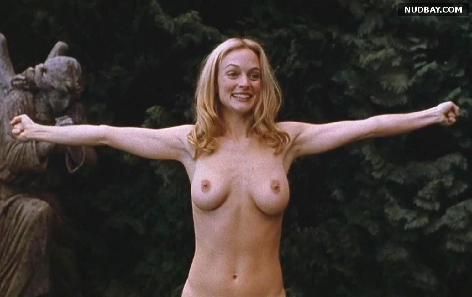 Heather Graham naked in Killing Me Softly (2002)