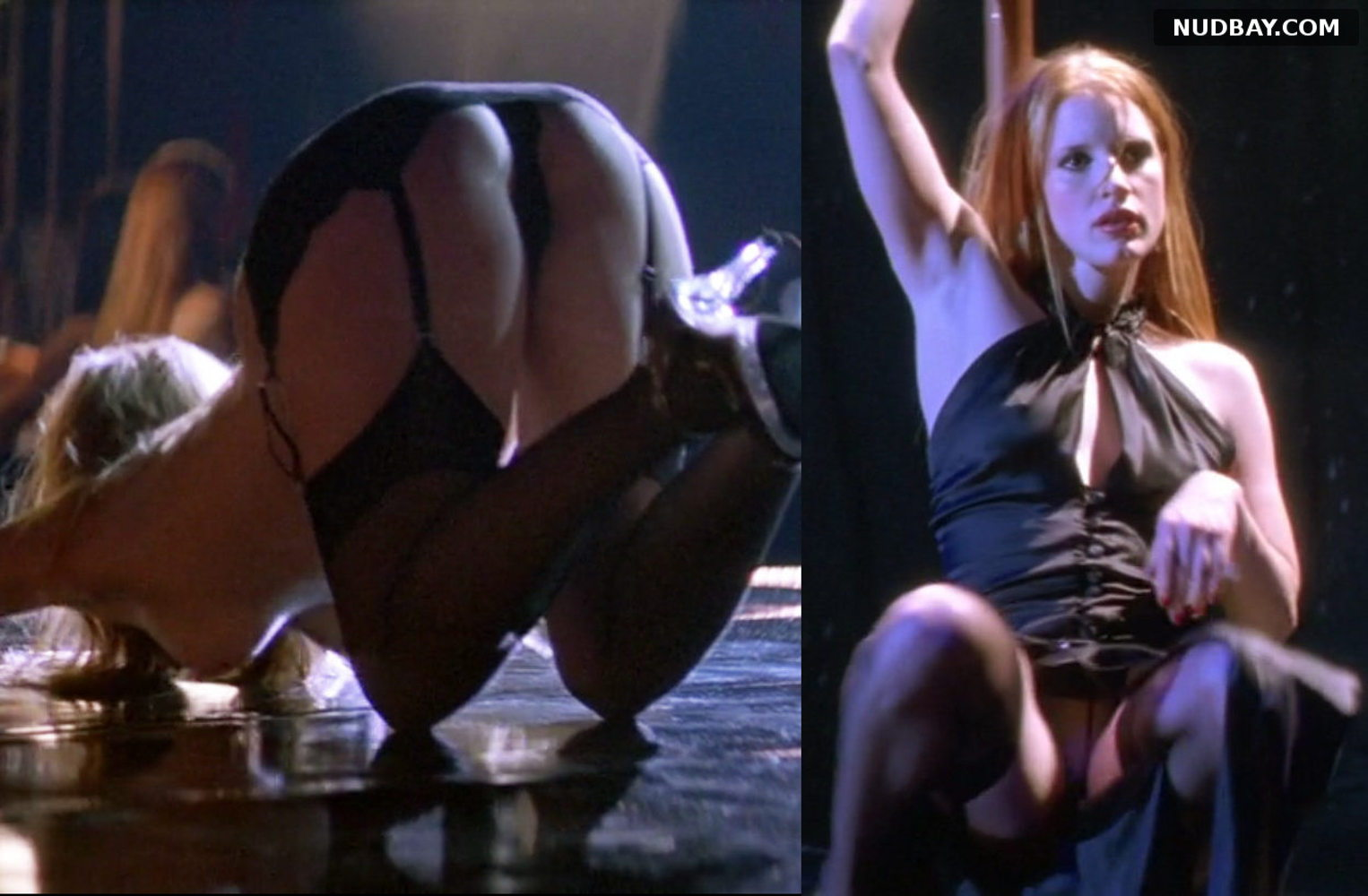 Jessica Chastain nude ass in Jolene (2008)