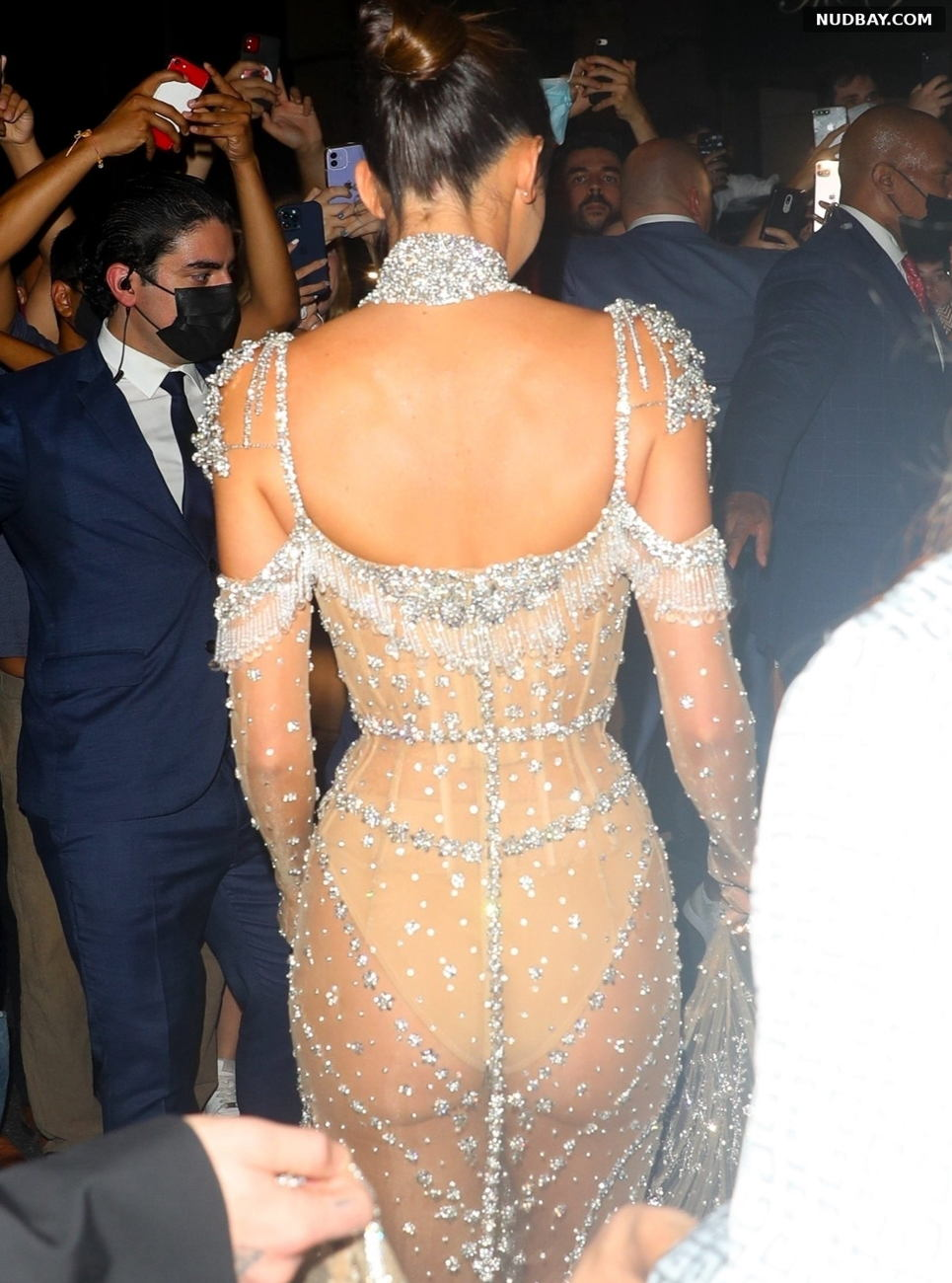 Kendall Jenner Ass leaving for the Met Gala in New York Sep 13 2021