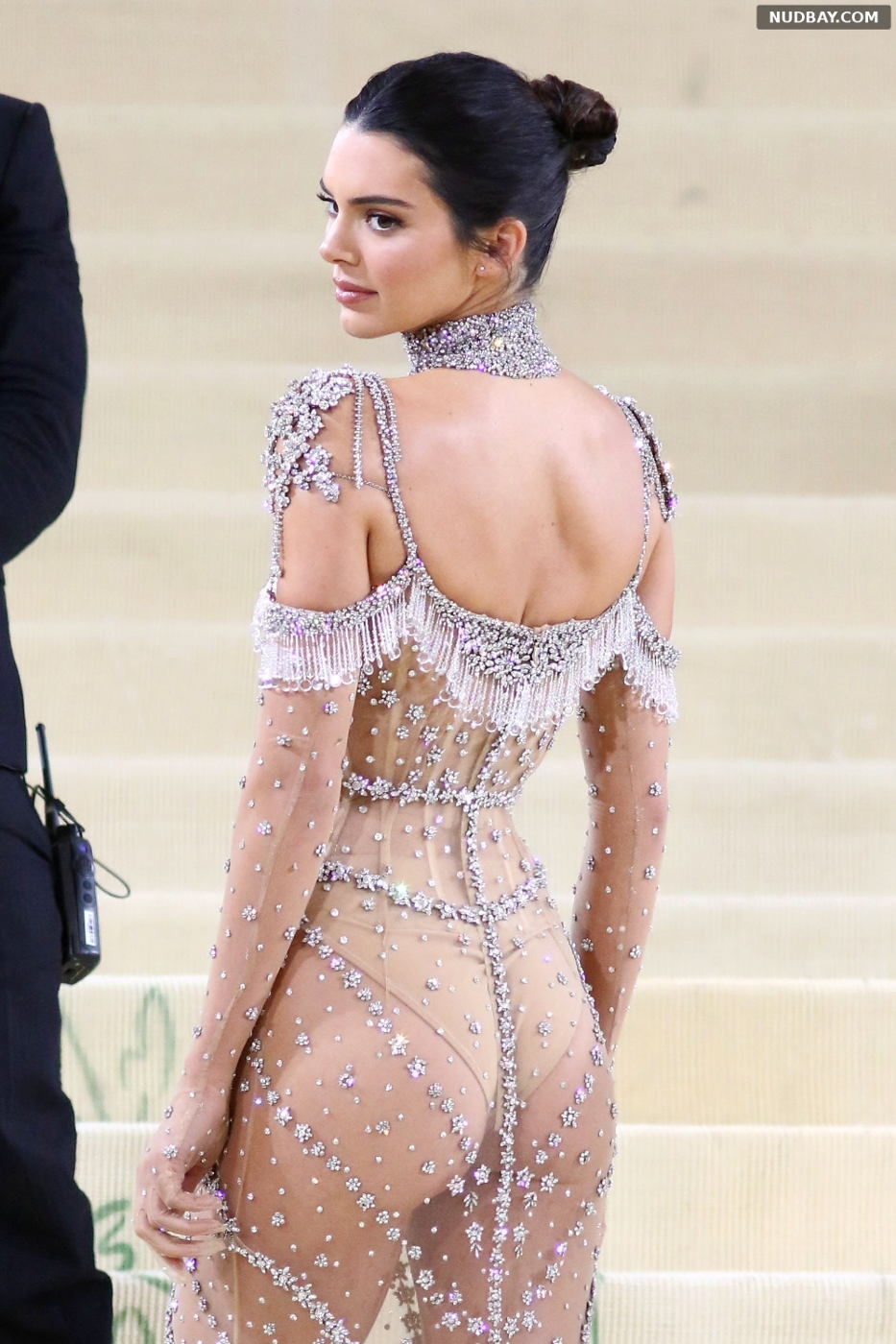 Kendall Jenner Booty at The Met Gala Celebrating in New York City Sep 13 2021