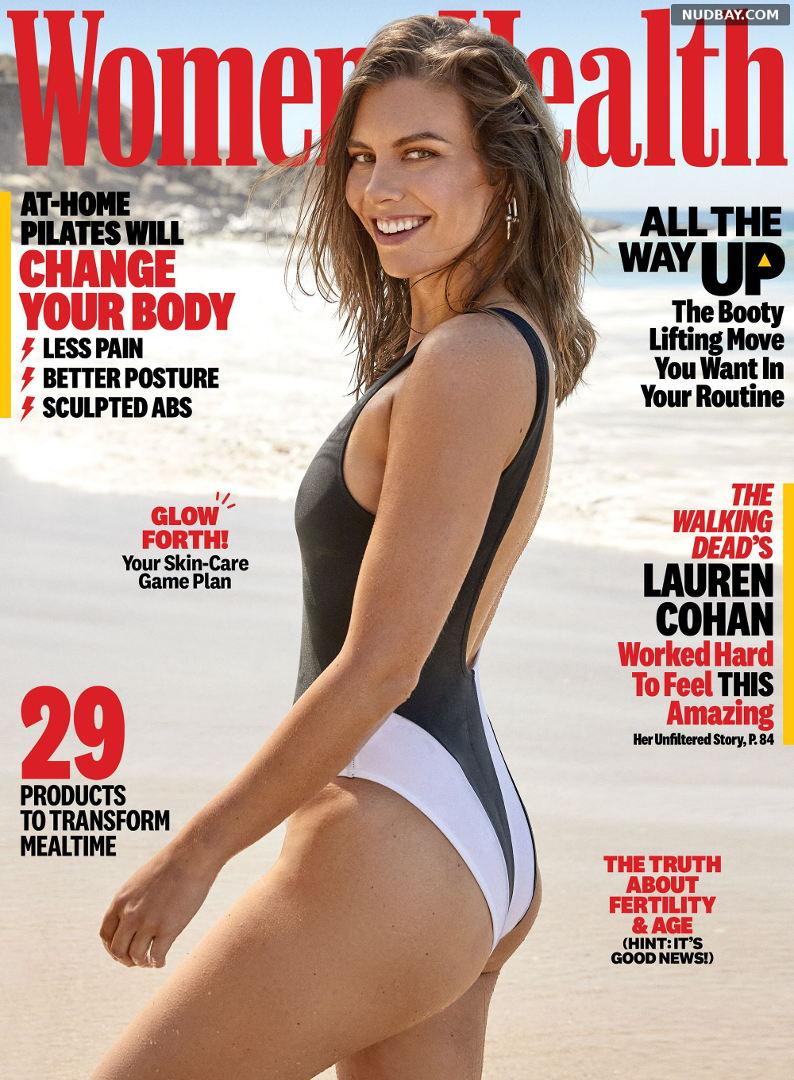 Lauren Cohan nude ass in Women's Health October 2021