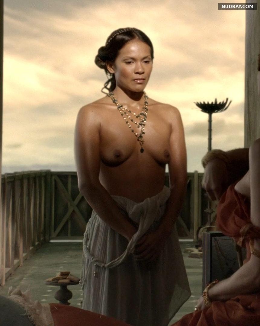 Lesley-Ann Brandt nude in Spartacus (2010)