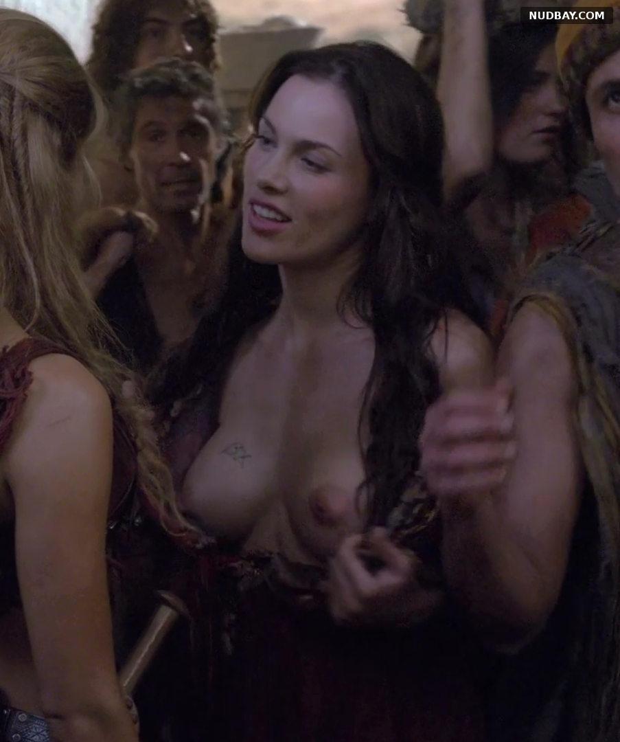 Luna Rioumina nude in Spartacus (2013)