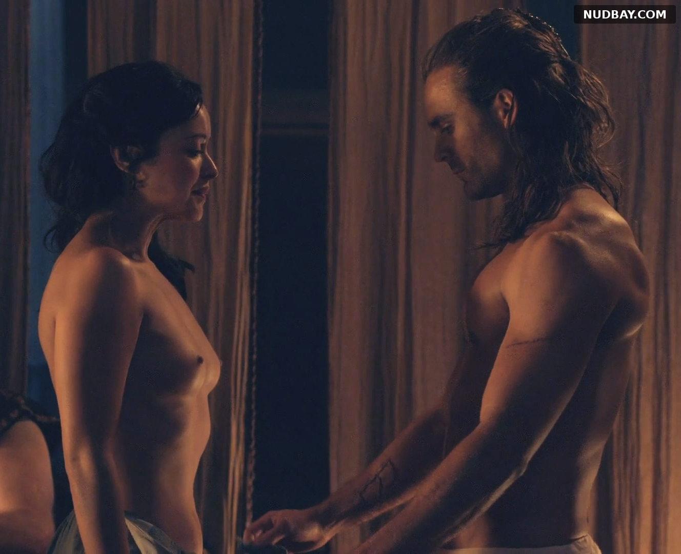 Marisa Ramirez nude in Spartacus: Gods of the Arena (2011)