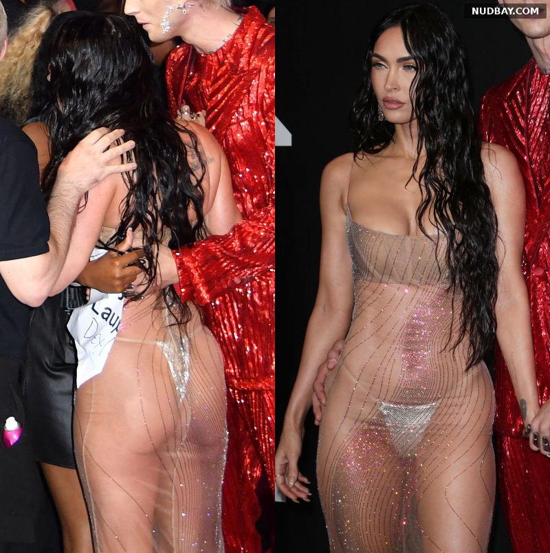 Megan Fox Ass at MTV Video Music Awards in New York Sep 12 2021 1