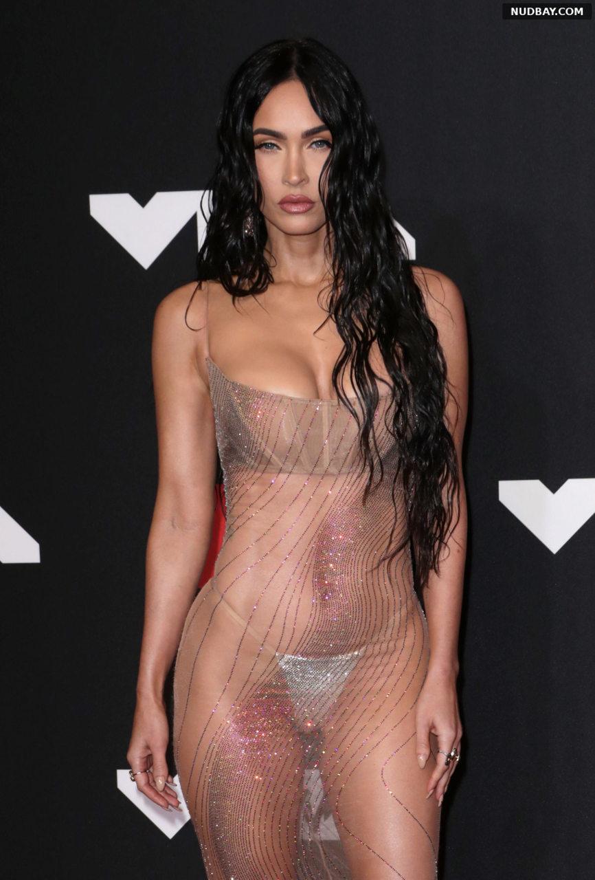 Megan Fox Sexy at MTV Video Music Awards in New York Sep 12 2021