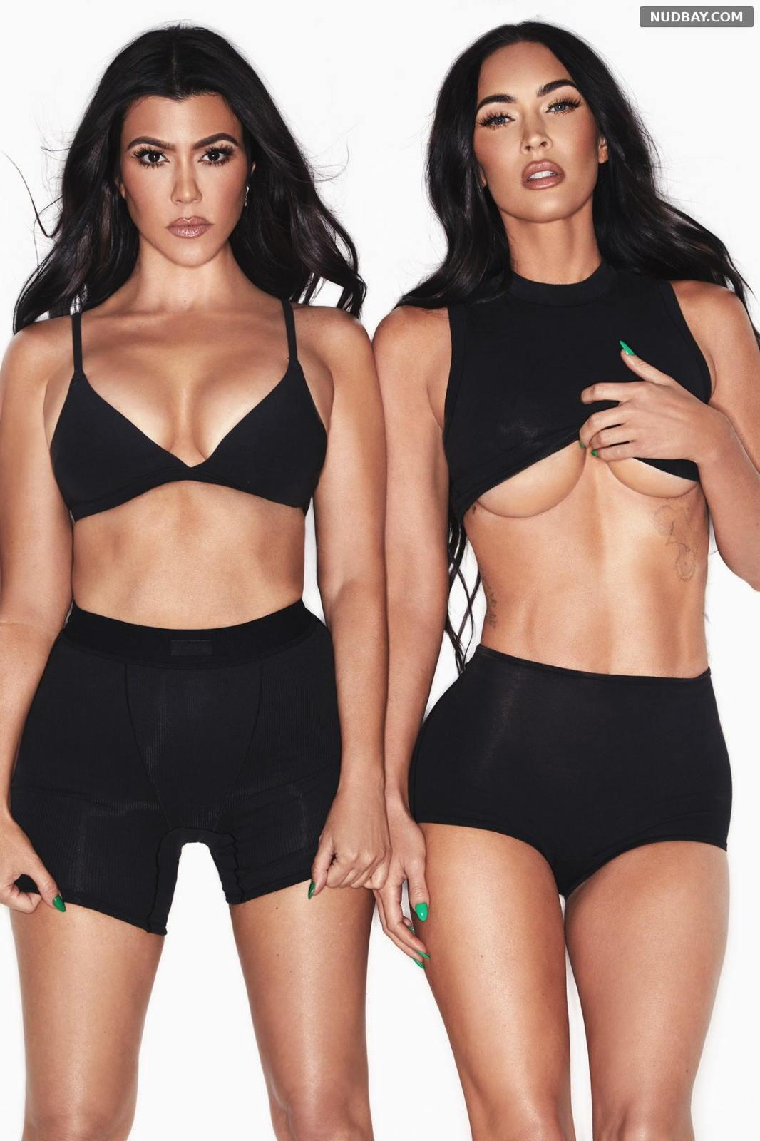 Megan Fox and Kourtney Kardashian Photo shoot September 2021