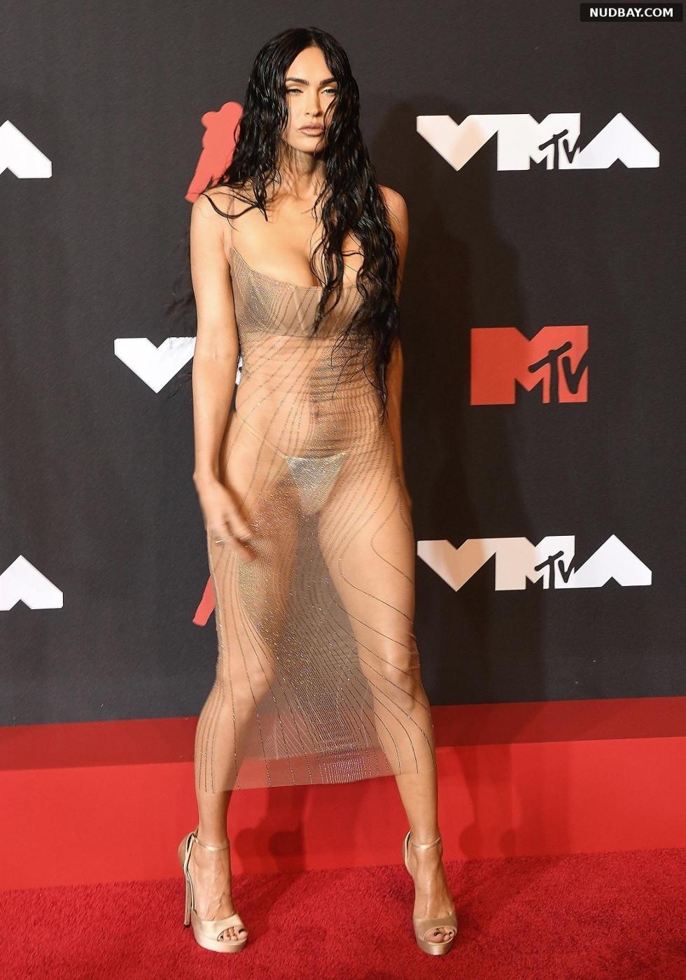 Megan Fox nude at MTV Video Music Awards in New York Sep 12 2021