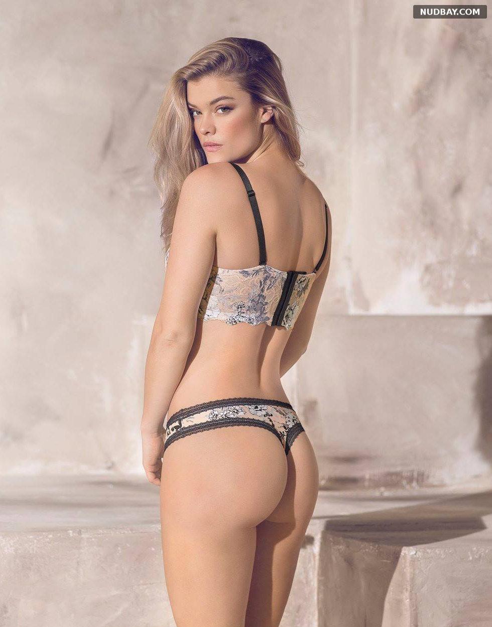 Nina Agdal Ass photoshoot Aerie Swimwear 2018