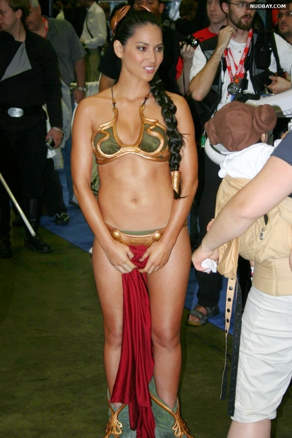Olivia Munn nude at the 30th anniversary of Star Wars 2007