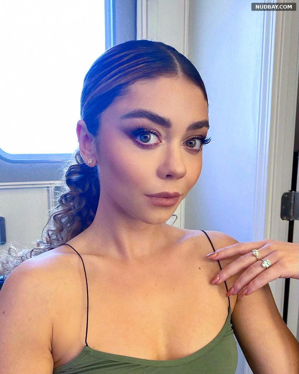 Sarah Hyland face cute selfie Aug 24 2021