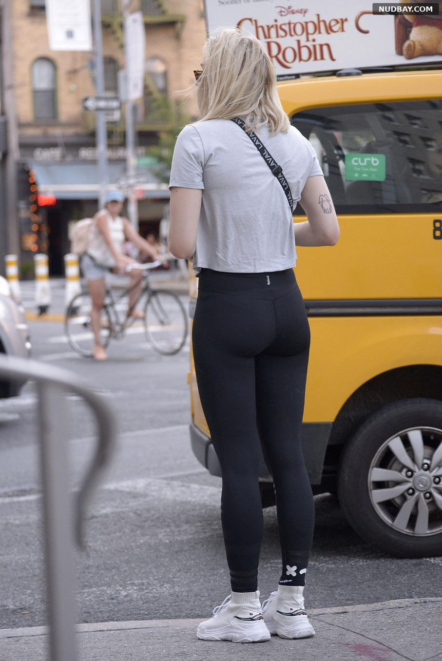 Sophie Turner Ass out in New York City July 20 2018