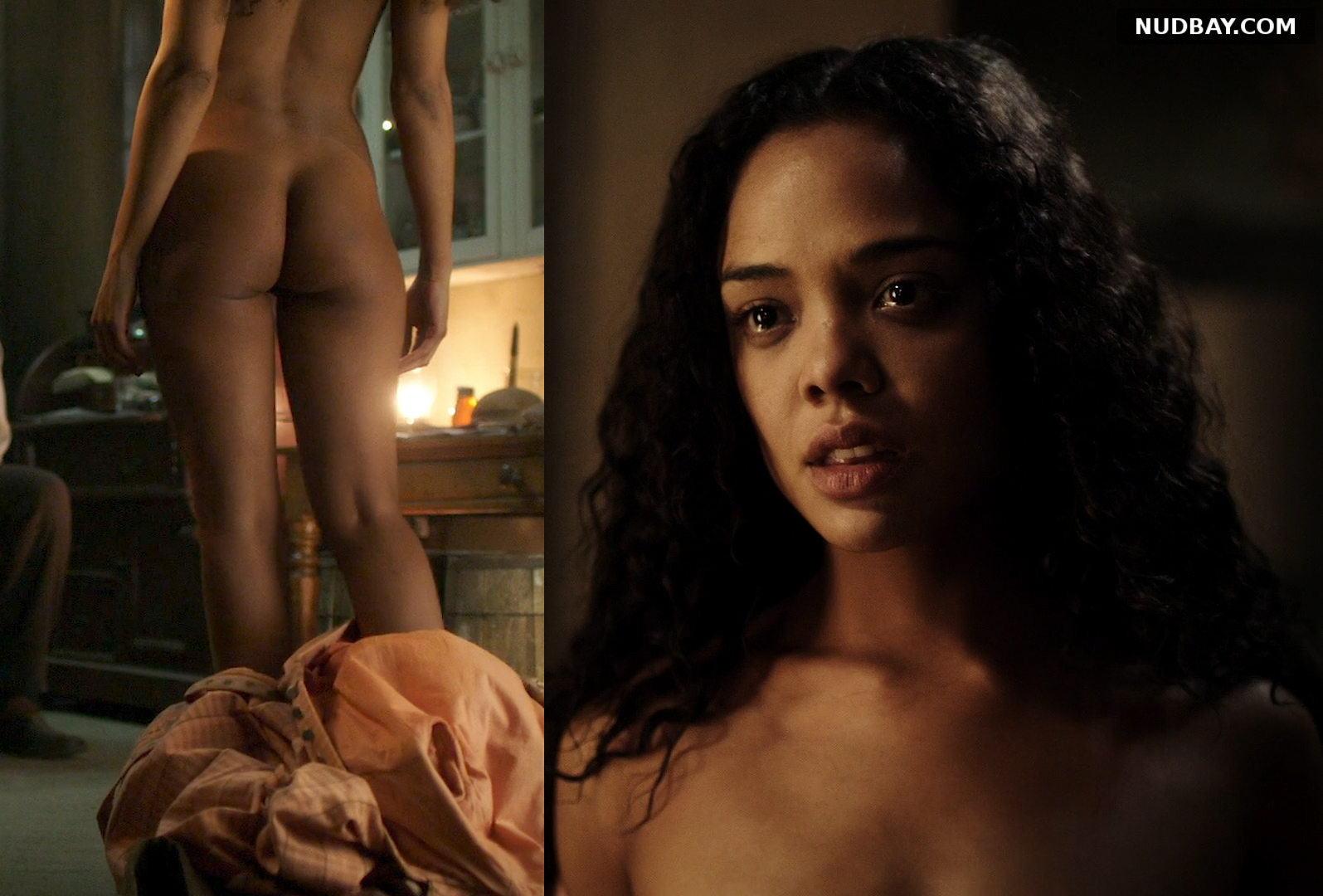 Tessa Thompson nude Copper S02E02 (2013