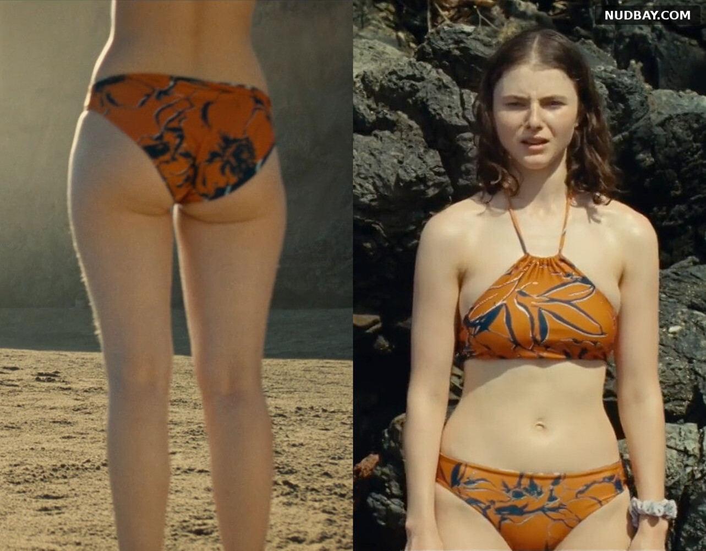 Thomasin McKenzie Ass in bikini - Old (2021)