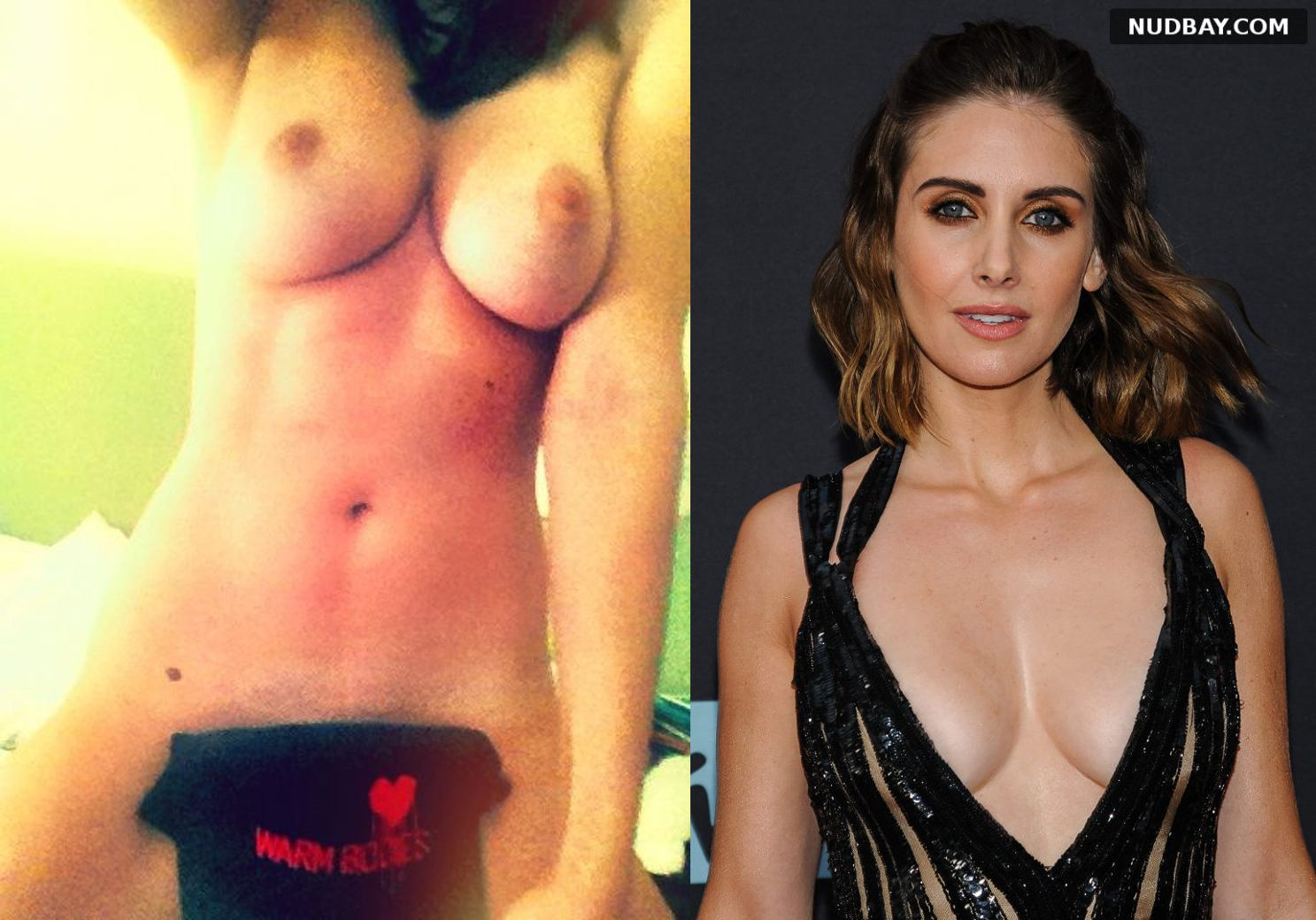 Alison Brie nude showing big tits 2021
