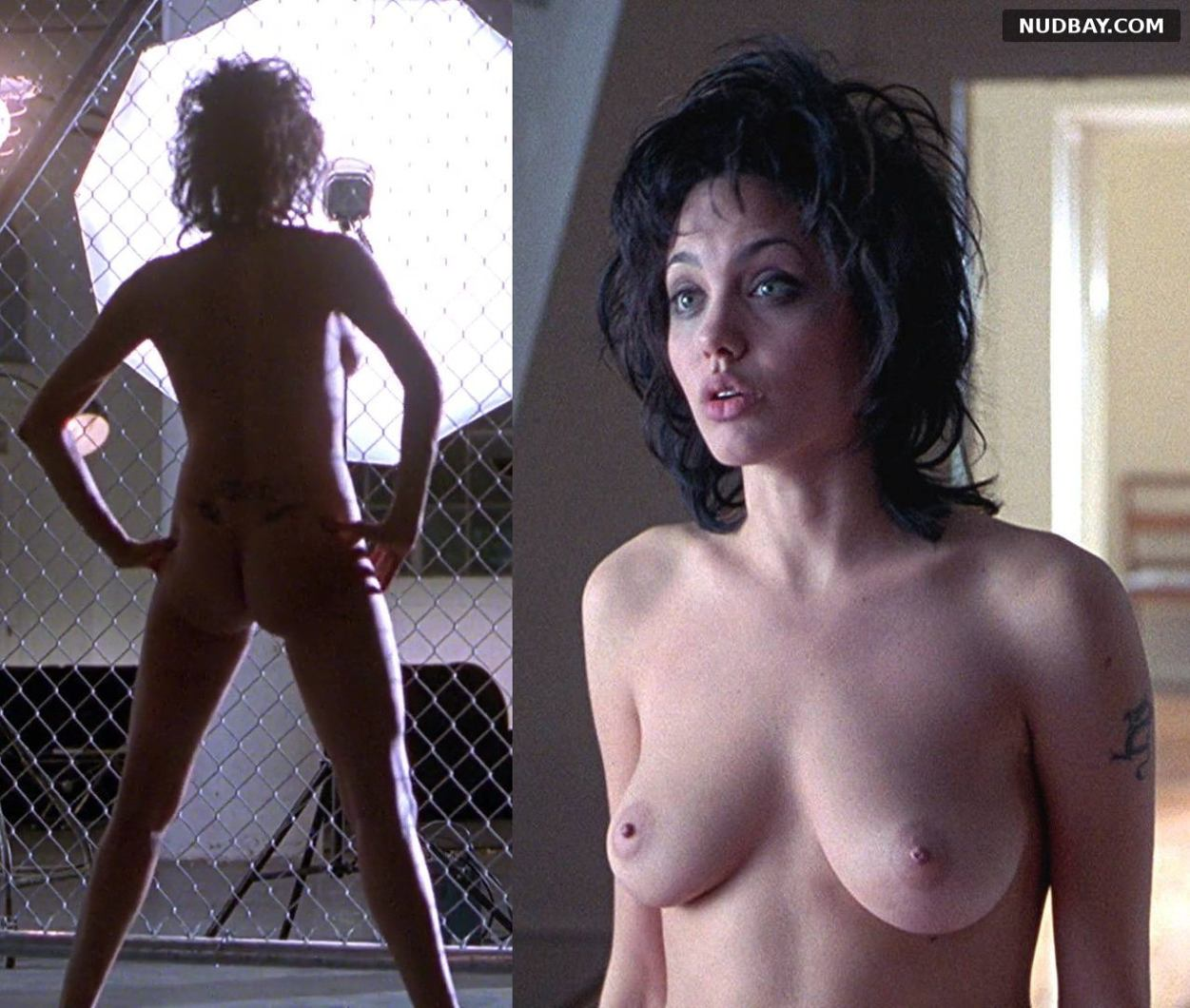 Angelina Jolie nude in the movie Gia (1998)