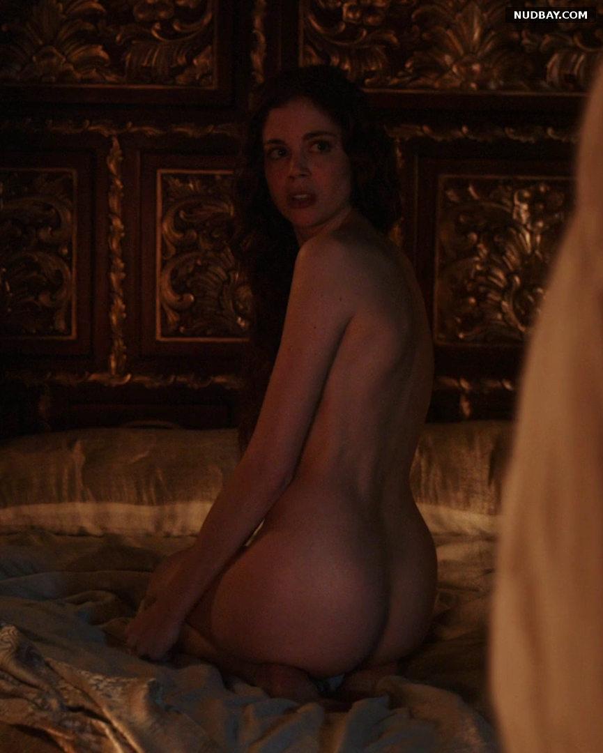 Charlotte Hope NUde ASS The Spanish Princess S02E03(2020)