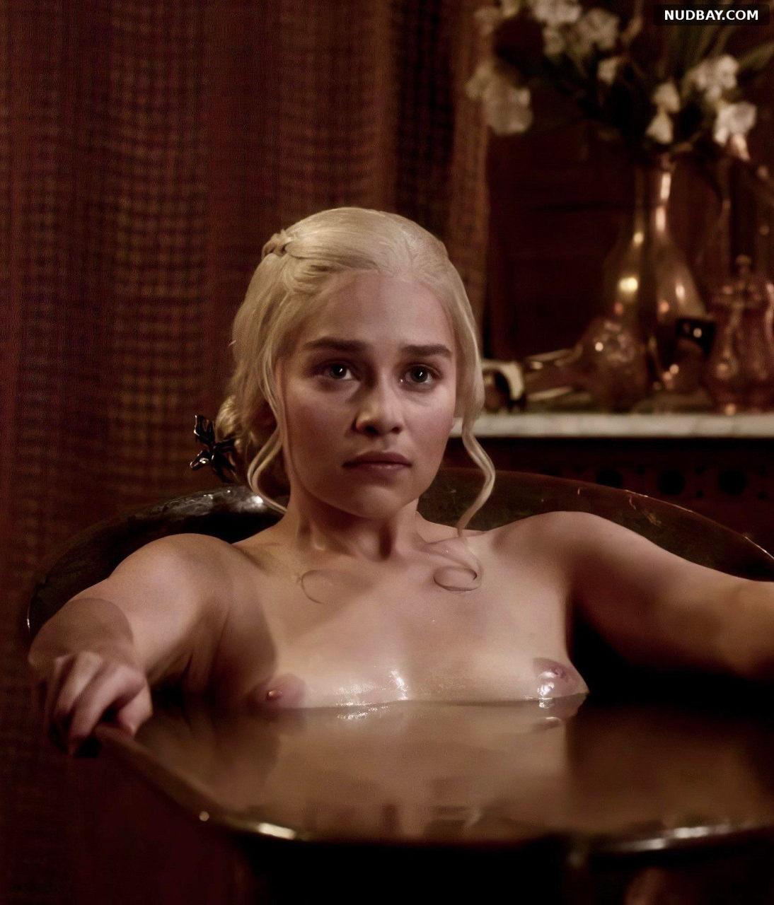 Emilia Clarke Nude TV Series Game of Thrones S03 (2013)