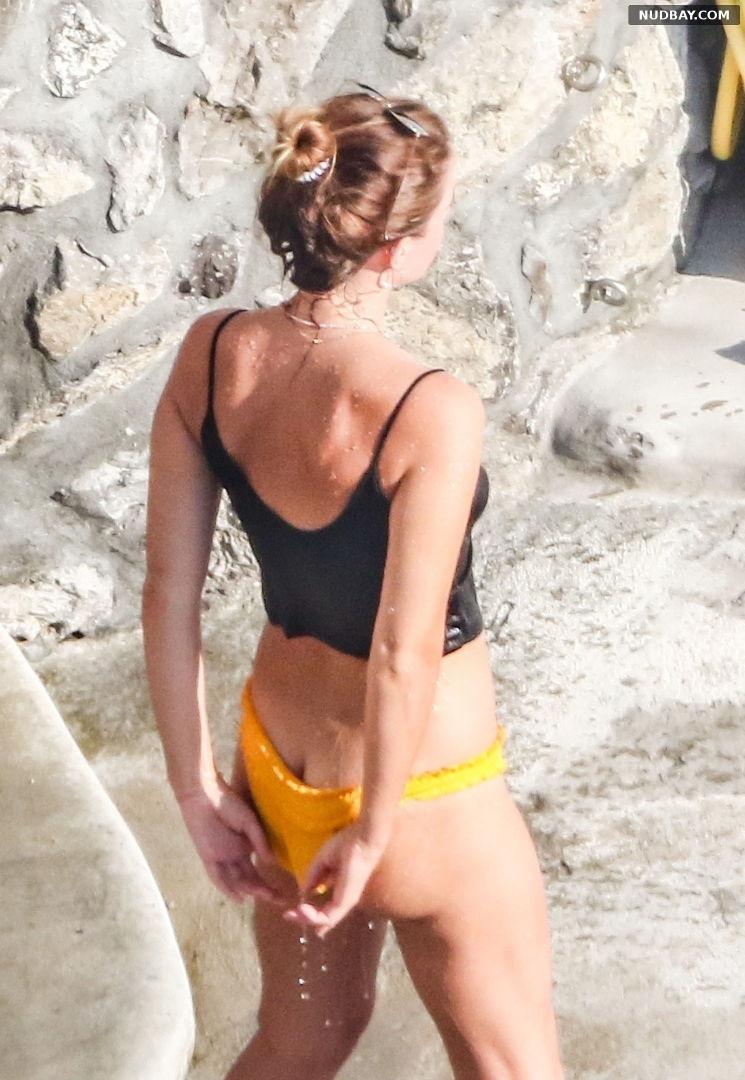 Emma Watson Bare Ass on holiday in Italy Bikini Aug 04 2020 01