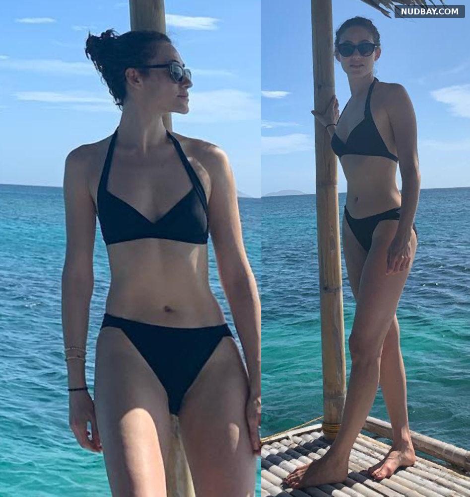 Emmy Rossum bikini Dec 31 2018