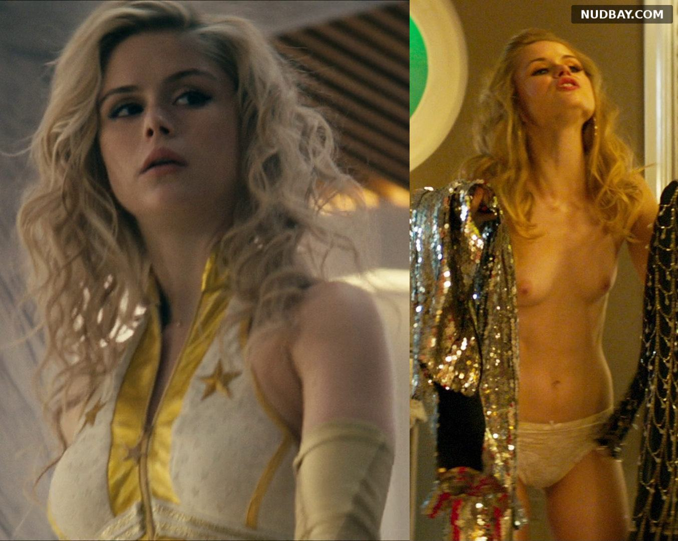 Erin Moriarty Starlight nude shows tits 2021