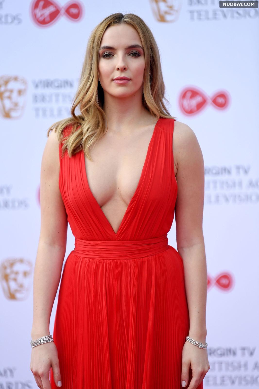 Jodie Comer Cleavage at British Academy Television Awards May 14 2017
