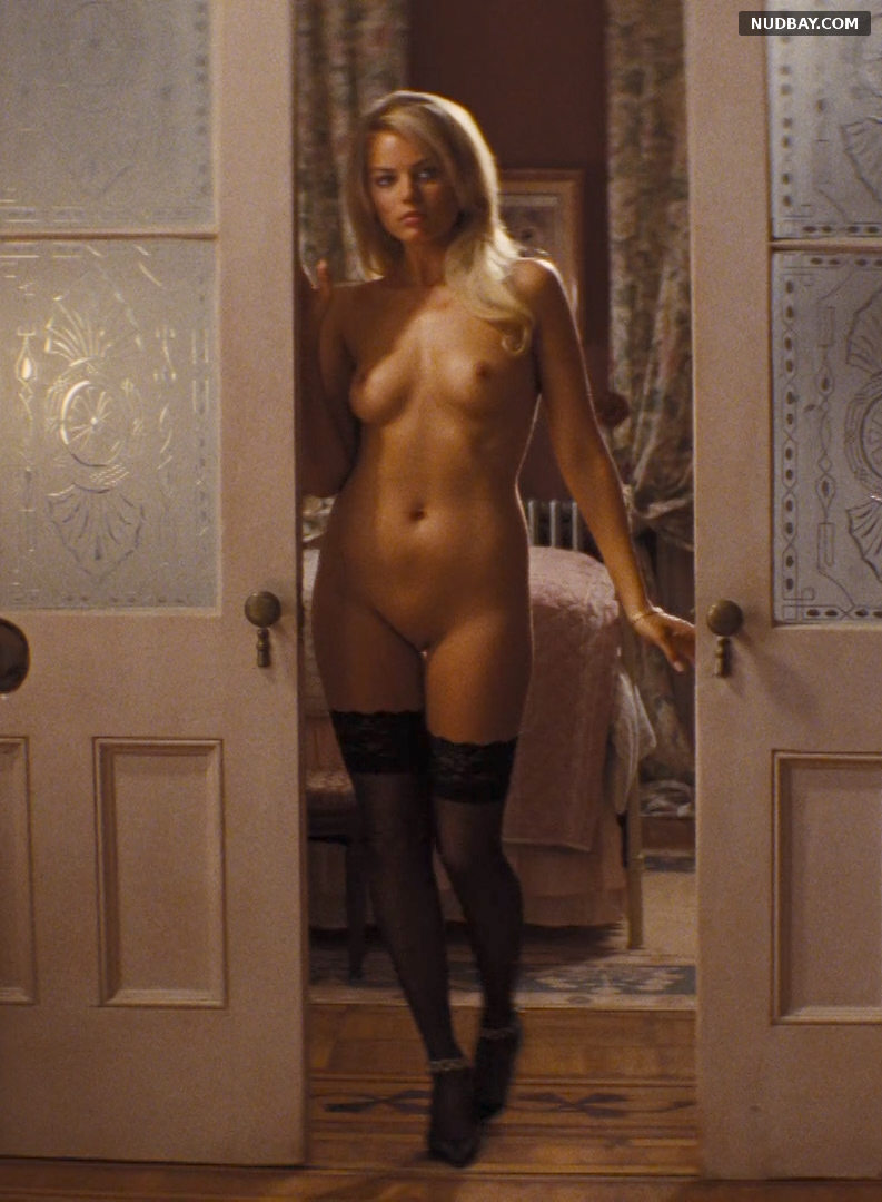 Margot Robbie nude full frontal in The Wolf of Wall Street (2013)