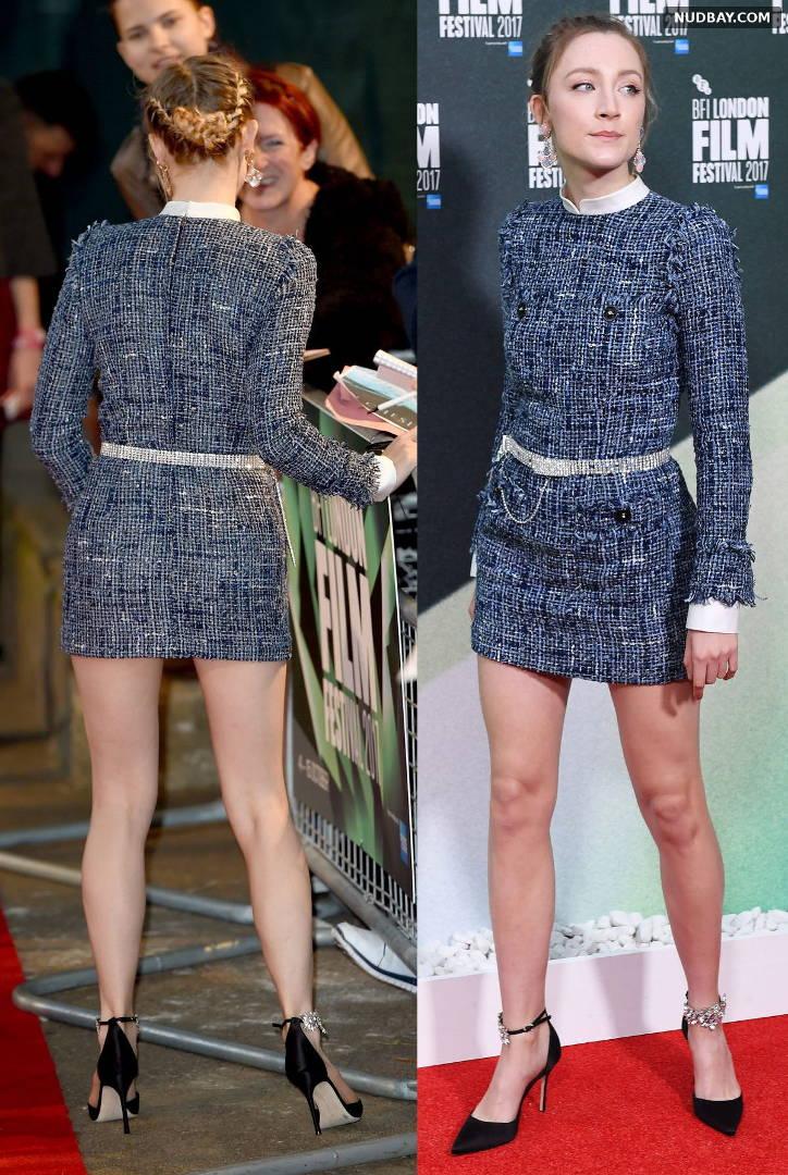 Saoirse Ronan On Chesil Beach Premiere at 61st BFI London Film Festival Oct 08 2017