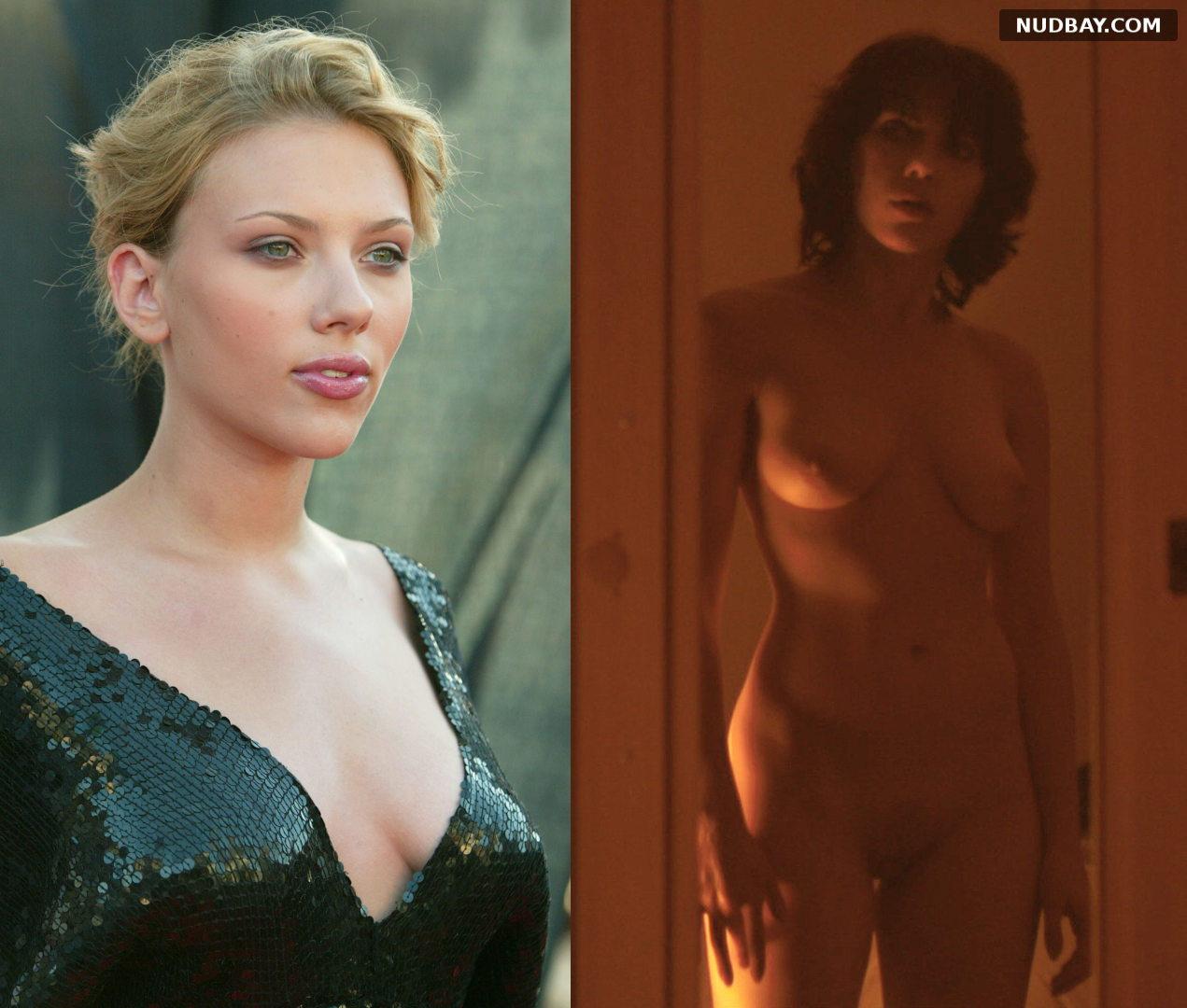 Scarlett Johansson nude tits on off 2021