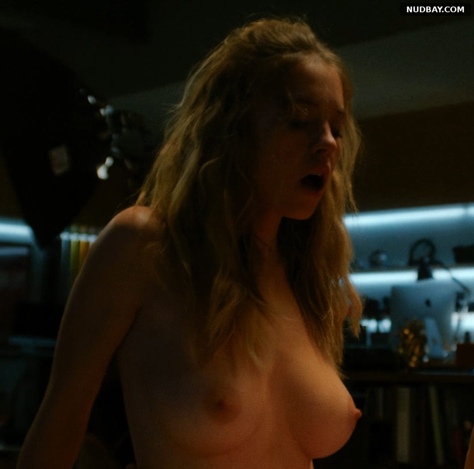 Sydney Sweeney nude in the movie The Voyeurs (2021)